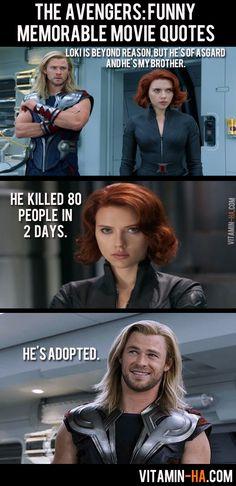Avengers Quote
