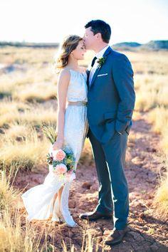 Texas Desert Chic Wedding Inspiration - Ruffled®Ruffled®