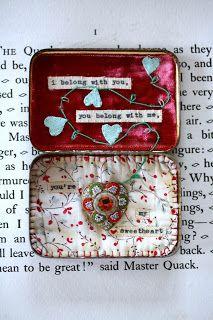 sweet valentine altoid tin,  Life at Little Burrow