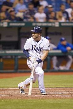 Luke Scott strikes out for final out in a 10 inning 1-0 lost against the Kansas City Royals.  (8-21-12)