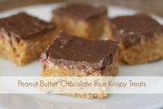 butter chocol, larson lingo, chocol rice, chocolates, food, krispi treat, peanut butter, chocolate rice krispie treats, dessert