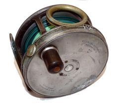 """Hardy Perfect 4"""" Wide Drum Salmon Fly Reel Source: Mullock's Auctions"""