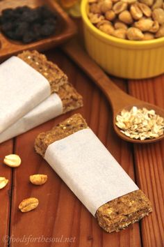 Soft-Baked Oat Bars   by Foods for the Soul {foodsforthesoul.net}