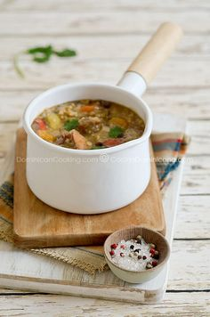 Chambre (Legumes and meat stew)