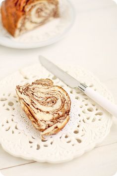 Japanese Chocolate Marble Bread #food #foodtography