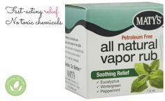 Mommy Greenest Approved: Maty's All Natural Vapor Rub - http://www.mommygreenest.com/mommy-greenest-approved-matys-natural-vapor-rub/