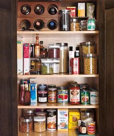 How to clean out your pantry.