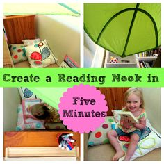 Create a Reading Nook in Five Minutes
