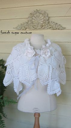 First Communion on Pinterest Crochet Cape, Crochet ...