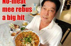 Vegetarian mee rebus recipe