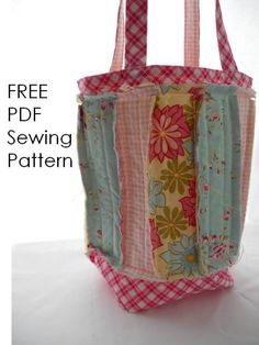 Free Rag Bag Pattern by EmmiGrace and Me