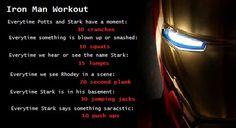 Iron Man Movie Workout
