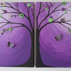 bust button, craft, blend tutori, canvas paintings, art