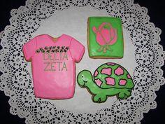 Delta Zeta Sorority Cookies