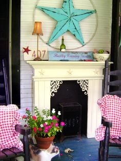 DIY CHIC HOME DECOR | Shabby Chic Decorating Ideas for Porches and Gardens : Home : DIY ...