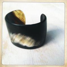 Natural Horn Cuff   www.artesano-jewels.com