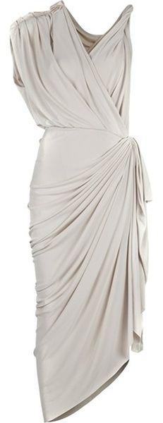 LANVIN  Grecian Dress