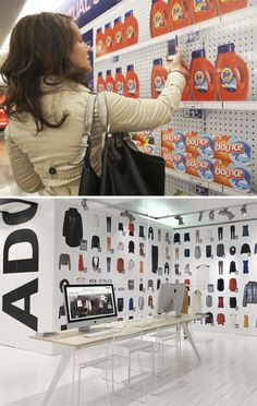 Pop Up Shops | Rena Tom / retail strategy, trends and inspiration for creative businesses - QR Code Shopping