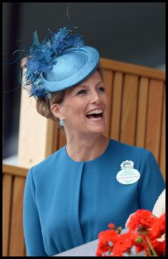 The Countess of Wessex at Royal Ascot day 1, 18 June 2013.