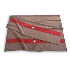 New Swiss-style Military Wool Blanket