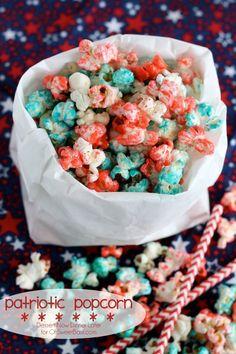 Patriotic Popcorn on MyRecipeMagic.com