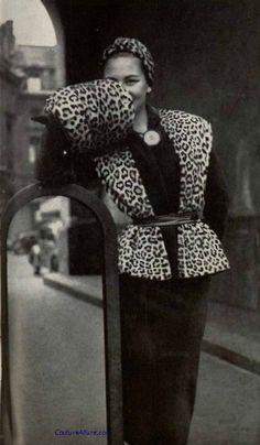 Pierre Balmain, 1950.