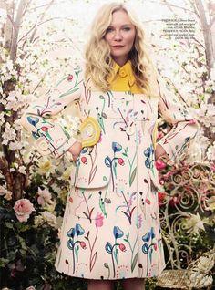 Kirsten Dunst for Harper's Bazaar UK