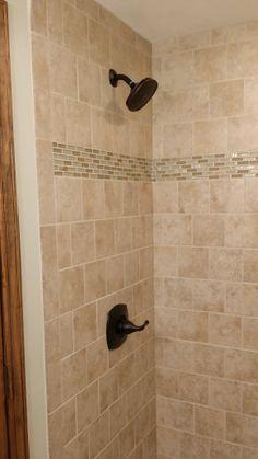 Custom Tile Stand Up Shower Milback Construct Downstair Bath Custom Tile S