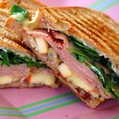 Ham, Apple and Brie Panini