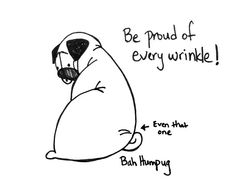 Bah Humpug: A (Pug) Wrinkle in Time time, anim, pug life, puggi roll, bahhumpug, pugs, pug crazi, bah humpug, babi wrinkl
