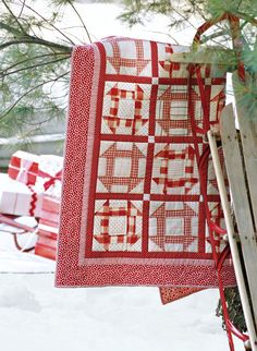 Candy Cane Quilt directions