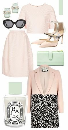 SPRING PASTEL: PINK & MINT - Hello Fashion. Not the shoes, but maybe everything else