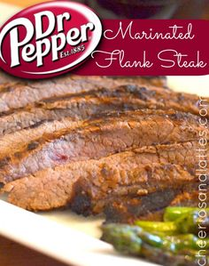 YUMMY!! Dr. Pepper Marinated Flake Steak {Our Family Steak-Off Challenge!}