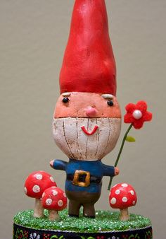 my little gnome i sculpted