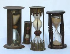 Collection of hourglasses