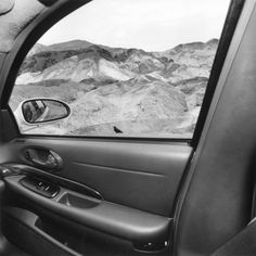 Lee Friedlander, California, 2008  Series America by car. Lee Friedlander