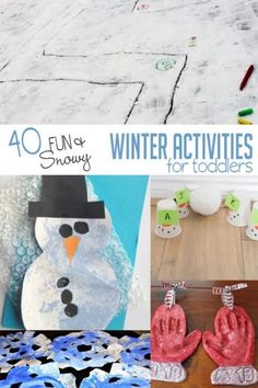 Fun winter activitie