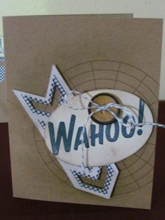 """September 2013 """"WAHOO"""" My Paper Pumpkin Kit from Stampin' Up!"""