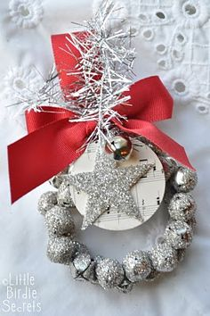 Christmas Wreath...easy to make...