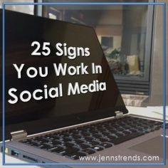 you work in social media