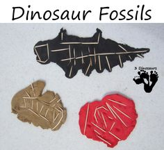 Digging up Dinosaurs - fossil making activity