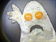 DIY Ghost Eggs