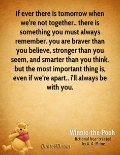 Winnie the Pooh Quotes   Insipiration