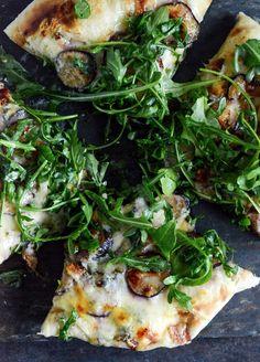 cook, blue cheese, fresh fig, bleu chees, pizzas