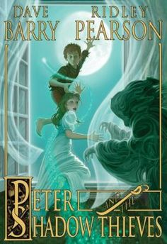 """Peter and the Shadow Thieves (Starcatchers Series #2). """"    In this riveting and adventure-packed follow-up to Peter and the Starcatchers, we discover Peter leaving the relative safety of Mollusk Island—along with his trusted companion Tinker Bell—for the cold, damp streets of London. On a difficult journey across the sea, he and Tink discover the dark and deadly, slithering part-man/part-creature Lord Ombra. It seems that the dreaded Ombra has a variety of mysterious powers including the . . ."""""""