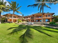 Privacy and luxury in the family oceanfront compound! #realestate #backyard #homes #estate #hawaii #design #architecture