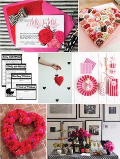 Valentine's Day themed baby shower inspo #babyshower #valentinesday