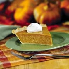 "Perfect Pumpkin Pie   ""The one and only! EAGLE BRAND® makes this traditional dessert the perfect ending to a Thanksgiving  feast."""