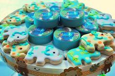 Cute cookies #elephant #cookies