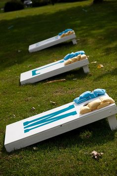 wedding corn hole- fun reception idea!
